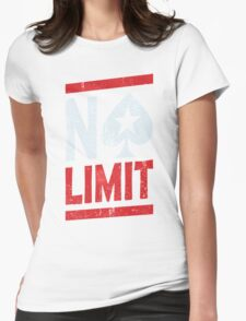 No Limit Poker Womens Fitted T-Shirt