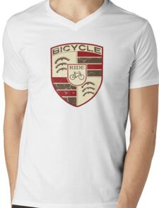 Bicycle classic Mens V-Neck T-Shirt