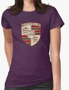 Bicycle classic Womens Fitted T-Shirt