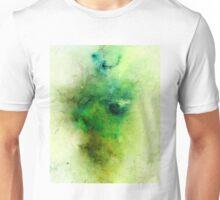 Green Negative Galaxy  Unisex T-Shirt