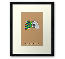 Times have changed Framed Print