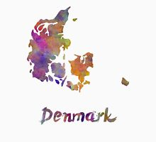 Denmark in watercolor Unisex T-Shirt