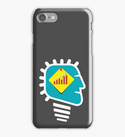 men with growth idea iPhone Case/Skin
