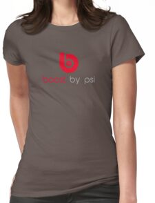 boost by psi (beats parody) Womens Fitted T-Shirt