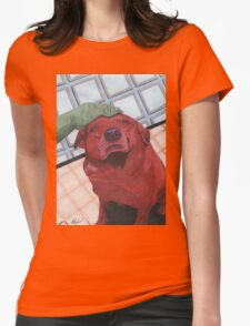 red mike Womens Fitted T-Shirt