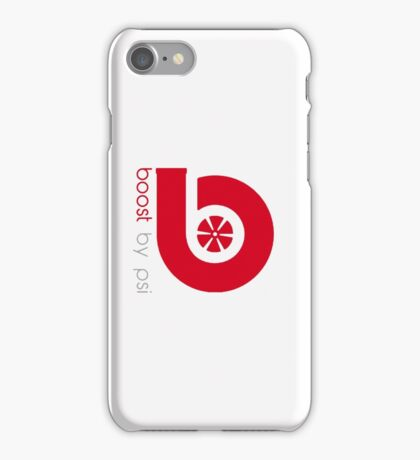 boost by psi (beats parody) iPhone Case/Skin