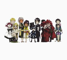 Black Butler Cast by crazyfangirl97