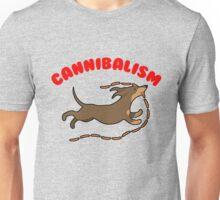 Sausage Dog Cannibal Unisex T-Shirt