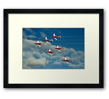 Roulettes in Motion Framed Print
