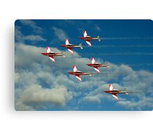 Roulettes in Motion Canvas Print
