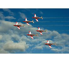Roulettes in Motion Photographic Print