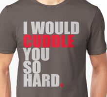cuddle (red/gry) Unisex T-Shirt