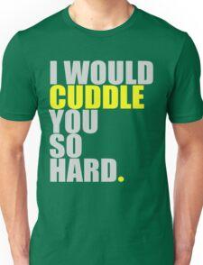 cuddle (yellow) Unisex T-Shirt