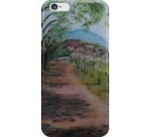 Outside Hadrian's Villa, Italy iPhone Case/Skin
