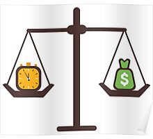 compare time and money Poster