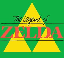 The Legend of Zelda by S M K