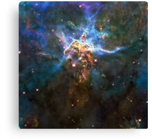 Expanse of God's Universe | Galaxy Mathematix Canvas Print