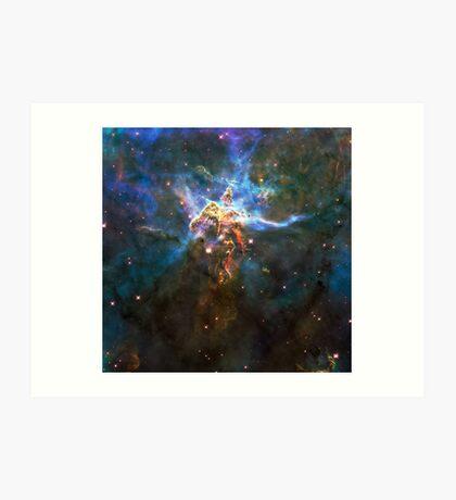 God's Impossible Triangle V3 | MXTHEMATIX Art Print