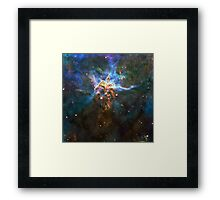 God's Impossible Triangle V3 | MXTHEMATIX Framed Print