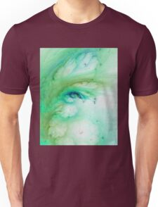 Aqua Negative Galaxy  Unisex T-Shirt