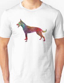 Dutch Shepherd Dog in watercolor Unisex T-Shirt