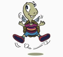 One Happy Stripes Turtle with wings Kids Clothes