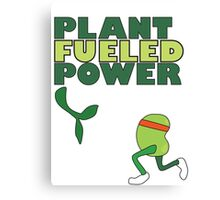Runner Bean - Plant Fueled Power Canvas Print