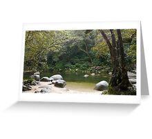 Mosman Gorge, Far North Queensland Greeting Card