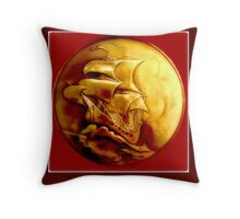 Galleon Throw Pillow