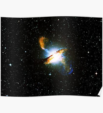 Centaurus A Triangle   Fresh Universe Poster