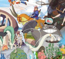 Studio Ghibli Sticker