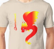Flying Quetzalcoatl No Flames Red Unisex T-Shirt