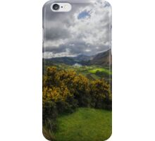 Valley Of Nant Gwynant iPhone Case/Skin
