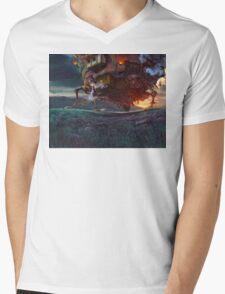 Howl's Moving Castle Mens V-Neck T-Shirt