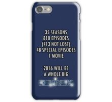 Whovian 2016 iPhone Case/Skin