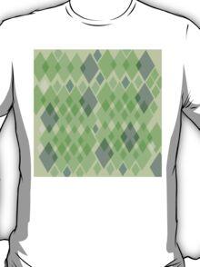 Snakeskin pattern in green T-Shirt