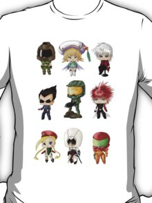 Chibi Gamers Set 1 T-Shirt
