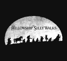 The Fellowship of Silly Walks by Ikado Art