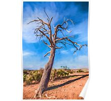 Outback Tree       GO Poster