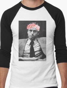 Ted Bundy Flower crown collection. Men's Baseball ¾ T-Shirt