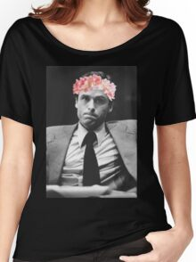 Ted Bundy Flower crown collection. Women's Relaxed Fit T-Shirt