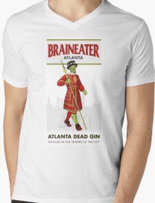 Braineater Mens V-Neck T-Shirt
