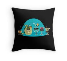 Usual Suspects Throw Pillow