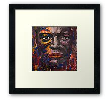 Touch Your Face Again Framed Print