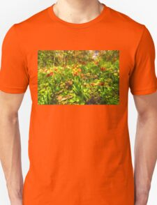 Impressions of Gardens - the Untamed Tulip Forest in Spring Unisex T-Shirt
