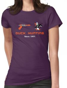 NES Duck Hunting Womens Fitted T-Shirt