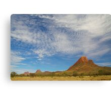 Blue skies above the Western MacDonnells Canvas Print