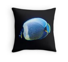 Reticulated Butterflyfish, Vanuatu Throw Pillow