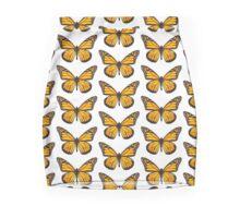 orange butterfly Mini Skirt