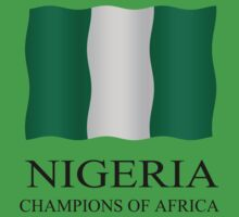 Nigeria - Champions of Africa Kids Clothes